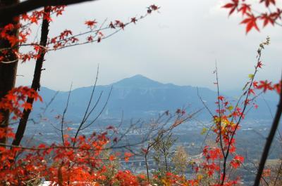 紅葉の長瀞 渓谷、宝登山