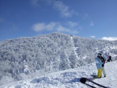スキー@北志賀高原