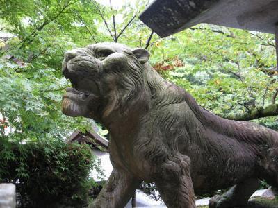 2010年9月奈良  虎と百足のいる寺 信貴山・朝護孫子寺