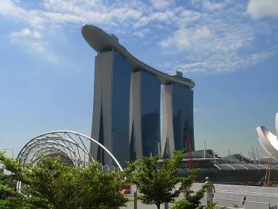 シンガポール&インドネシア ビンタン島旅行記 1(マリーナベイサンズ編)