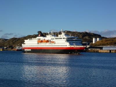 沿岸急行船乗船 ボードーからケルケネス