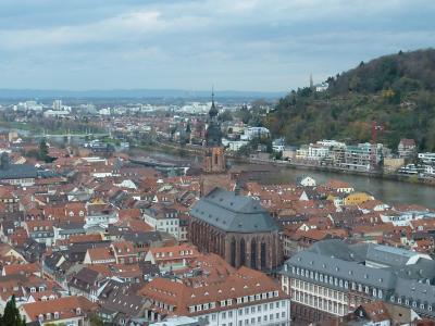 7日間でドイツ・フランス・スイスの旅(その1・ハイデルベルク)