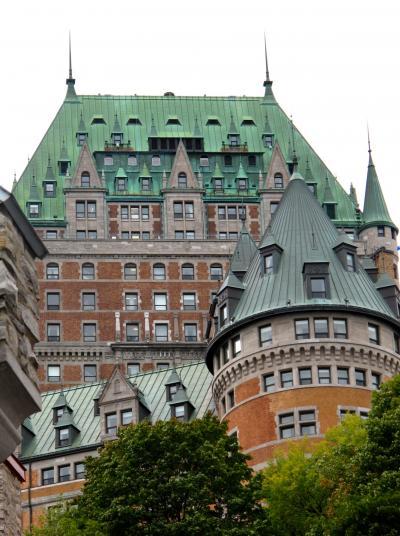 カナダ21 ケベック歴史地区の面影を求めて ☆世界遺産の街を散歩