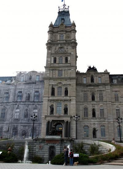 カナダ23 ケベック州議事堂は威厳をもって ☆独立運動の経緯もあり