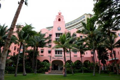 2010年11月 ハワイ旅行  ロイヤル ハワイアン探訪