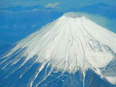番外編 御殿場からの富士山の翌日は空からの富士山です