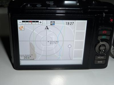 GPS付きカメラでチェンマイ散策・・・