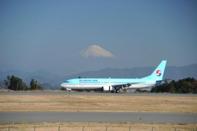 久しぶりの富士山静岡空港①