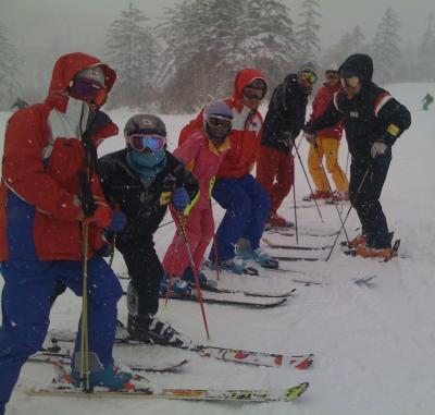北海道スキーツアー2010