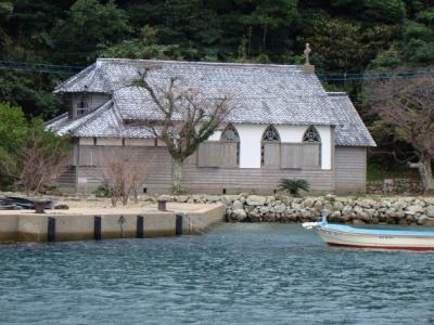五島列島 教会めぐり なんと50もの教会が建ってます (2日目 久賀島、中通島、若松島)