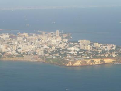 ブリュセル航空で西アフリカ1番の大都市セネガルのダカールへ。