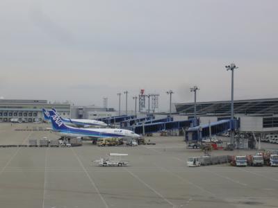 ANAで福岡経由で熊本へ。