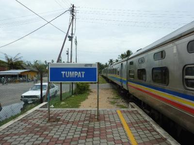マレーシア乗り潰しの旅(東海岸への鉄道)