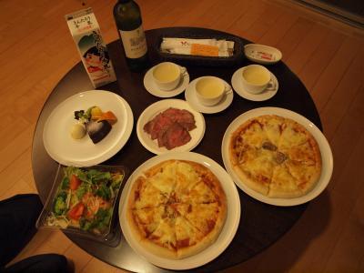 箱根仙石原 相原精肉店のローストビーフとVIALA箱根翡翠のルームサービス 2010年11月