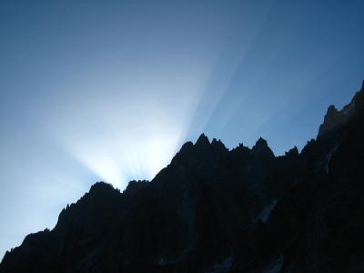 モン・ブラン ヨーロッパの最高峰 エギュイーユ・デュ・ミティの展望台
