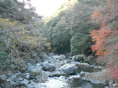 日本の旅 関西を歩く 大阪、高槻市の摂津峡周辺