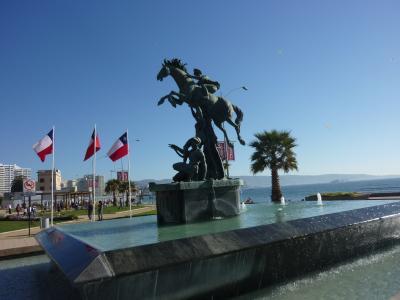 水中モアイとダイビング Chile Independence day @Vina del mar