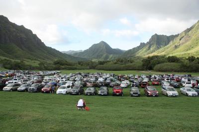 1歳8ヶ月の子供を連れたハワイ家族旅行 3日目(個別行動:クアロアランチ、ワードセンター)