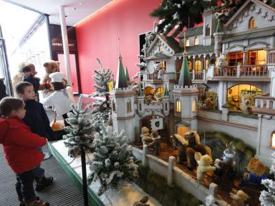 2度目のクリスマス イン ドイツ☆その6☆ ギーンゲンからフュッセン~テディベアに癒されて♪