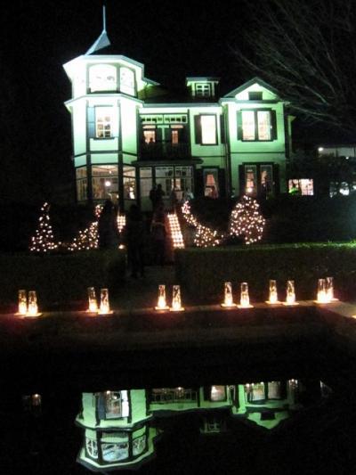 横浜:山手西洋館 イタリア庭園クリスマス・キャンドルカフェ