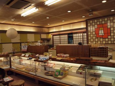 伊東温泉の街中、湯の花通りを散策し、和菓子の老舗 にし村さんへ 2010年12月