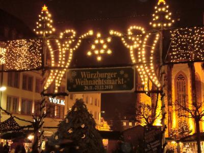 南ドイツ クリスマスマーケットめぐり(^^)~Wurzburg