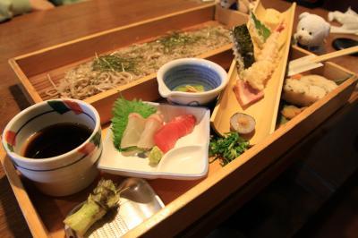 ○ 地酒とそば・京風おでん 「三間堂」 堺筋本町店