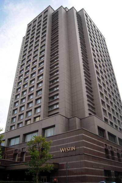 ウェスティンホテル東京、エグゼクティブコーナーダブル(イーストビュー)☆冬デコレーション東京☆
