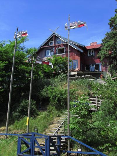 2010年バルト3国旅行第6日目(2)ニダ:スミルティネからニダへ&可愛い風向計のあるニダの町