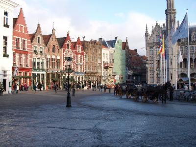 [vol.1] クリスマスシーズンのヨーロッパを体感! ~ ベルギーとパリ5泊8日の旅(ブルージュ編)~