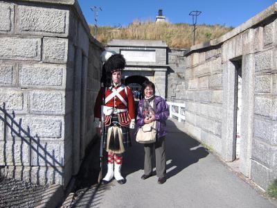 ニューヨークとカナダへのクルーズの旅(2010年9月)。。。その17「カナダ ハリファックス シタデル」