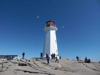 ニューヨークとカナダへのクルーズの旅(2010年9月)。。。その18「カナダ ハリファックス ペギーズコーブ灯台」