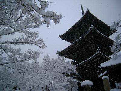白銀の京都