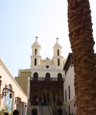 """エジプト紀行(7) 聖ジョージ教会とムアッラカ教会~""""もうひとつのカイロ""""オールドカイロ"""