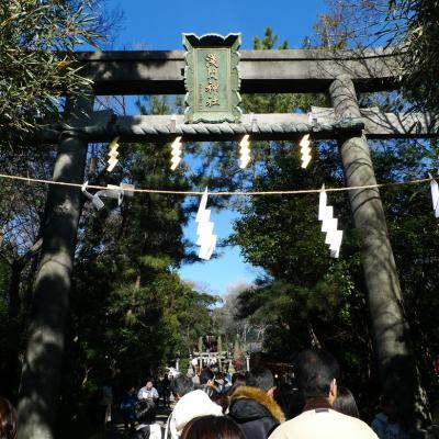 2011年元旦。初詣では『浅間神社』で始めます!