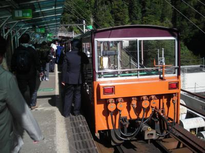あこがれの黒部渓谷トロッコ電車
