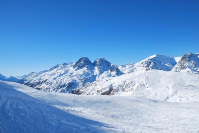 シャモニーでスキー Grand Monte