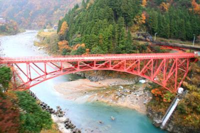 車中泊の旅:黒部渓谷鉄道~富山を楽しむ