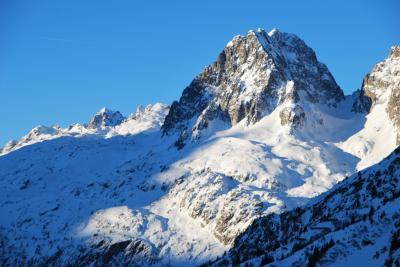 シャモニーでスキー Le Tour