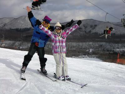 2011.1 白銀は招くよ!14年ぶりのスキーinカルルス温泉サンライバスキー場