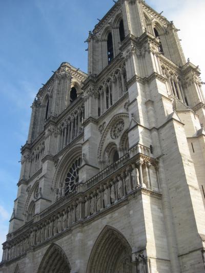 パリ旅行 2010-2011 1日目(パリ市内)