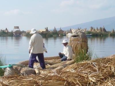 【ペルー・プーノ】ティティカカ湖