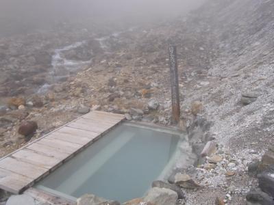 【硫黄岳2日間】山に登って温泉に入ろう