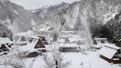 五箇山はやっぱり雪がいっぱいでした