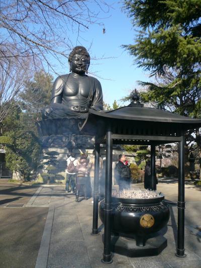 東京大仏を見に・・・乗蓮寺
