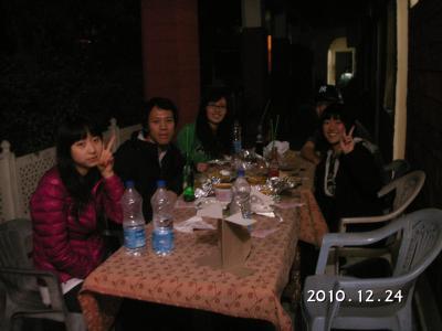 インド旅⑤~Korean party~