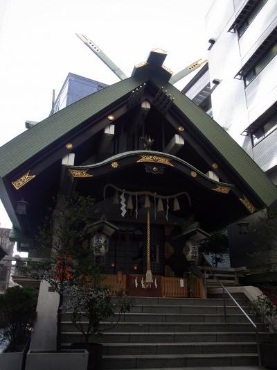 お散歩初詣 ~築土神社&東京大神宮~