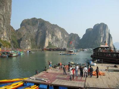 ベトナム&ラオス北部旅行:ハロン湾、ハノイ年越し編