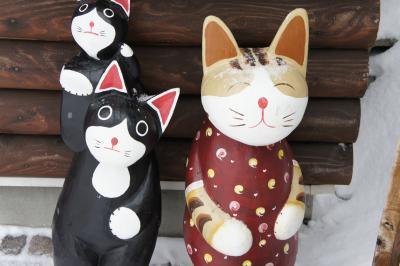 ♪ 札幌・小樽 (5) 雪の中の小樽の街