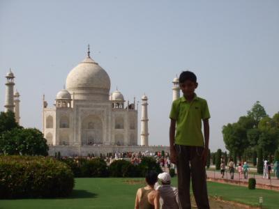 タイ・インド・ドイツ旅行<インド編・アグラ>